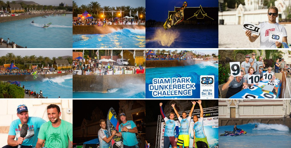 SIAM PARK DUNKERBECK CHALLENGE EXTREME JUMP SESSION 2015